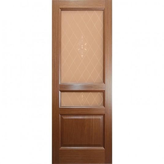 Дверь шпонированная Дворецкий Готика ДО орех