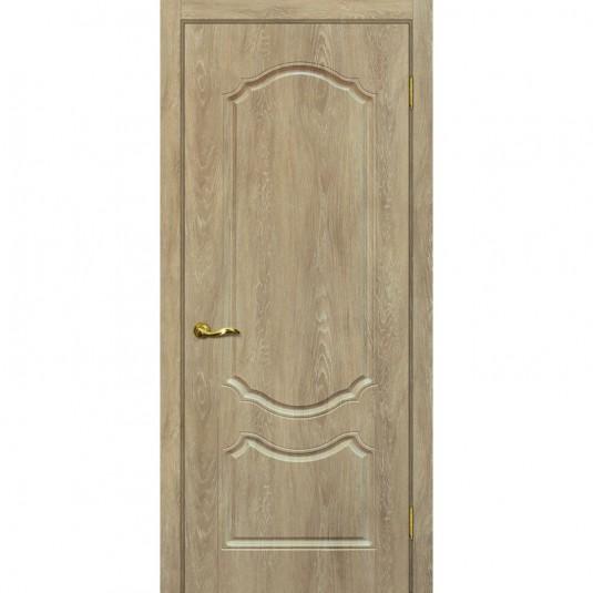 Дверь ПВХ Мариам Сиена 2 ДГ Дуб песочный