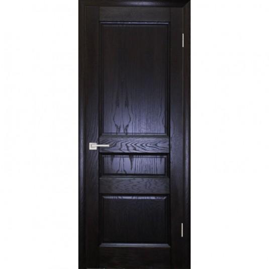 Дверь шпонированная Текона Вайт 02 ДГ Дуб патинированный