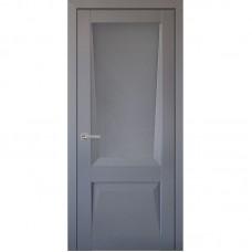 Дверь экошпон Uberture 106 ДО Серый бархат