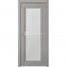 Дверь ПВХ Uberture Деканто ПДО 2 ДО Barhat grey