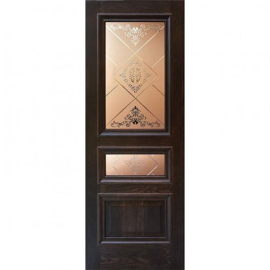 Дверь шпонированная Дворецкий Верона ДО английский дуб