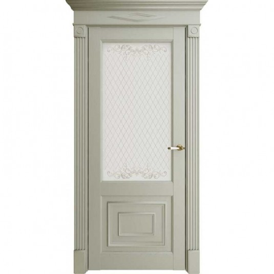 Дверь Uberture 62002 ДО Серена Светло-серый
