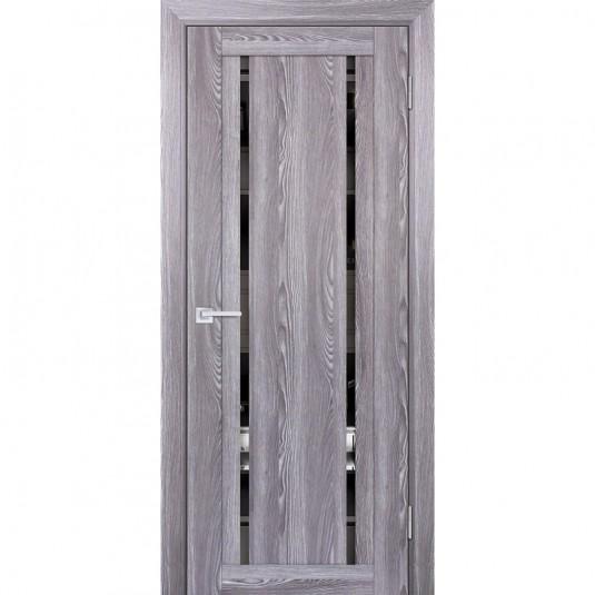 Дверь Profilo Porte PSK-9 ДО Ривьера грей с тонированным зеркалом