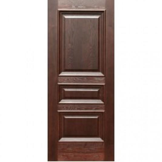 Дверь шпонированная Дворецкий Равена ДГ дуб коньяк