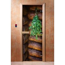 Дверь c фотопечатью веник