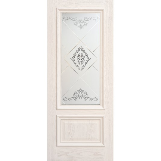 Дверь шпонированная Дворецкий Парма ДО цвет ясень карамельный